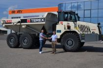 Kloubový dempr Terex TA 300 u společnosti COMETT