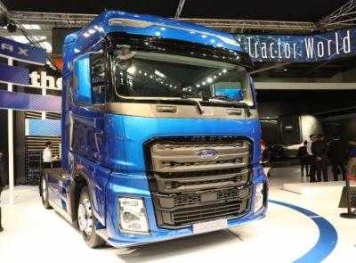 Ford Trucks představil nový model F-MAX v Praze