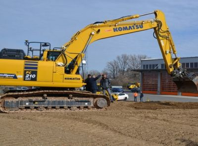 Smart Construction od Komatsu – v České republice