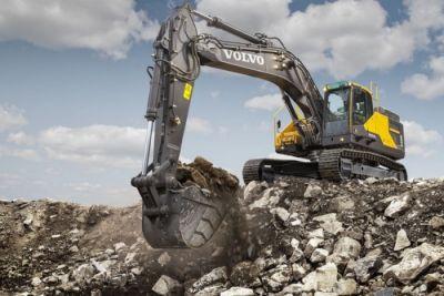 Volvo Construction představuje nový model rýpadel Volvo EC350E
