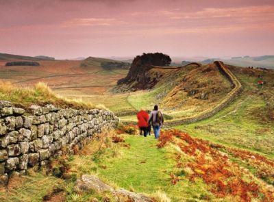 Hadrianův val aneb velká římská zeď