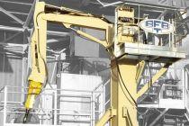 Výložníkové systémy pro hydraulická kladiva od firmy Trading BFBT s.r.o.